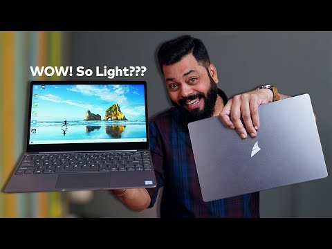 MarQ by Flipkart Falkon Aerbook Unboxing & First Impressions ⚡⚡⚡ Ultra Lightweight And Powerful 💻