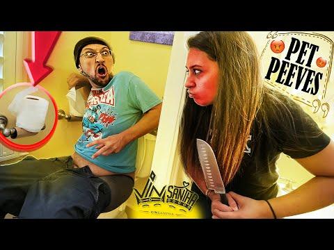 PET PEEVES #1: Husband vs. Wife ROAST || VinSantha