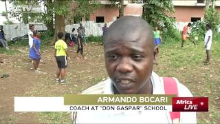 Students in the Island city of Malabo in Equatorial Guinea have also been in training like their National team counterparts. This is...