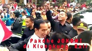 Video Disambut Meriah, Pak Jokowi Tiba-tiba turun dari Mobil Menyalami Warga Klungkung & Pelajar MP3, 3GP, MP4, WEBM, AVI, FLV Februari 2018