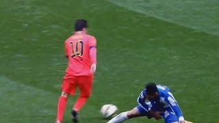 "Messi breaking some ankles! Enjoy. Re-upload with some changes.Watch Barça & Live Football on FuboTv (USA only): http://bit.ly/1KMAHXeFacebook: https://www.facebook.com/pages/Messi-TheBoss/538177782928122?ref=hl ---- DISCLAIMER! ---- Copyright Disclaimer Under Section 107 of the Copyright Act 1976, allowance is made for ""fair use"" for purposes such as criticism, comment, news reporting, teaching, scholarship, and research. Fair use is a use permitted by copyright statute that might otherwise be infringing. Non-profit, educational or personal use tips the balance in favor of fair use. All Rights goes to FIFA, UEFA and Media Pro!!Music: Pumping Adrenaline 1 - Niklas GustavssonThe Uprising 2 - Jon BjörkMusic from Epidemic Sound ""www.epidemicsound.com"".Special thanks to Raheem Comps and magicomessi10."