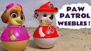 Paw Patrol Weebles