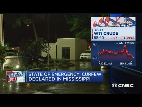 State of emergency and curfew declared in Mississippi for Gordon