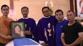 Video Misa Requiem Ibu Legita (Lim Gwat Ni) Korban Bom Surabaya. MP3, 3GP, MP4, WEBM, AVI, FLV Mei 2018