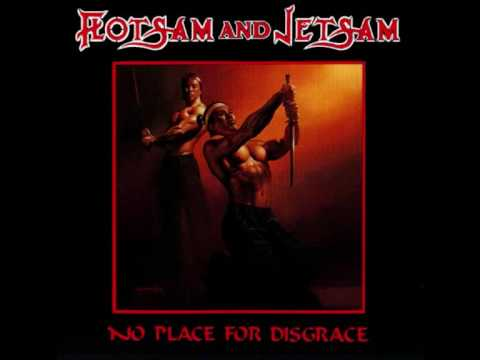 Tekst piosenki Flotsam and Jetsam - No place for disgrace po polsku