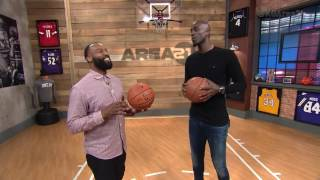Baron Davis Talks NBA D-League On Kevin Garnett's Area 21