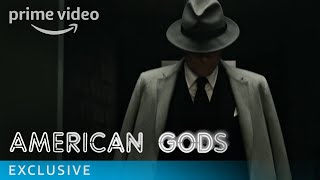 American Gods uncovers a power struggle between the traditional gods of mythological roots and an upstart pantheon of gods whose behaviour reflects modern society's love of money, technology, media, celebrity and drugs. American Gods is based on the award-winning novel by Neil Gaiman and produced by Bryan Fuller. The Season stars Ricky Whittle, Ian McShane, Emily Browning, Gillian Anderson, and Orlando Jones.» SUBSCRIBE: http://bit.ly/AmazonPrimeVideoUKSubscribe» Watch American Gods on Amazon Prime Video: http://bit.ly/AmazonPrimeVideoAmericanGodsFollow American Gods:Facebook: http://bit.ly/APVAmericanGodsFacebookTwitter: http://bit.ly/APVAmericanGodsTwitterInstagram: http://bit.ly/APVAmericanGodsInstagramAbout American Gods:American Gods uncovers a power struggle between the traditional gods of mythological roots and an upstart pantheon of gods whose behaviour reflects modern society's love of money, technology, media, celebrity and drugs. American Gods is based on the award-winning novel by Neil Gaiman and produced by Bryan Fuller. The Season stars Ricky Whittle, Ian McShane, Emily Browning, Gillian Anderson, and Orlando Jones.Get More Amazon Prime Video UK: Watch More: http://bit.ly/WatchAmazonVideoNowFacebook: http://bit.ly/AmazonPrimeVideoUKFacebookTwitter: http://bit.ly/AmazonPrimeVideoUKTwitterInstagram: http://bit.ly/AmazonPrimeVideoUKInstagramTumblr: http://bit.ly/AmazonPrimeVideoUKTumblrAbout Amazon Video:Want to watch it now? We've got it. This week's newest movies, last night's TV shows, classic favorites, and more are available to stream instantly, plus all your videos are stored in Your Video Library. Over 150,000 movies and TV episodes, including thousands for Amazon Prime Video members at no additional cost.American Gods Episode 5 - Behind the Scenes  Amazon Prime Videohttps://youtu.be/dBGXyJ3WLQIAmazon Prime Videohttps://www.youtube.com/c/amazonvideouk