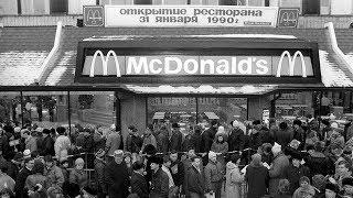 Первый McDonald's в Москве открылся в 1990 году. Это было какое-то безумие!