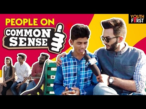 People on Common Sense | Interview by Abhinay Soni