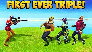 Download Video 3 KILLS WITH 1 BULLET! - Fortnite Funny Fails and WTF Moments! #261 (Daily Moments) MP3 3GP MP4