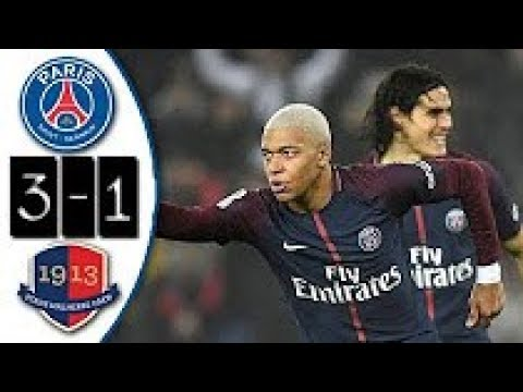 PSG vs Caen 3-1 - Goals & Extended Highlights 20/12/2017
