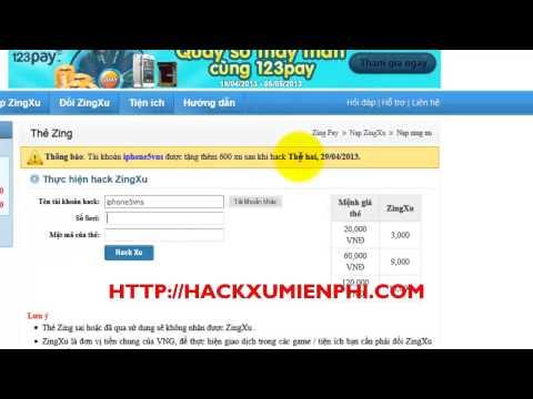 Hack Xu Long Tướng 2013 | Hack Long Tướng Zing Me Phiên Bản Mới Nhất