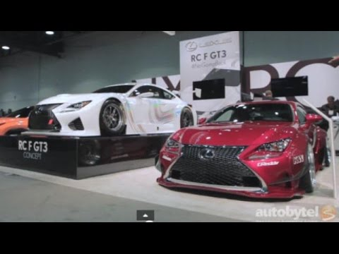2015 Lexus RC 350 F at SEMA 2014