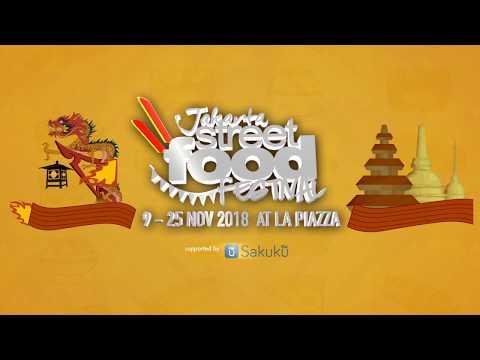 Jakarta Street Food Festival 2018 at La Piazza