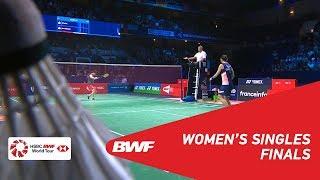 Download Video F | WS | TAI Tzu Ying (TPE) [1] vs Akane YAMAGUCHI (JPN) [2] | BWF 2018 MP3 3GP MP4