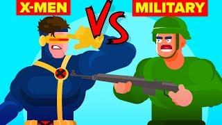 Video US Military vs X-Men - Who Would Win (Marvel Disney X-Men Dark Phoenix) MP3, 3GP, MP4, WEBM, AVI, FLV Juni 2019