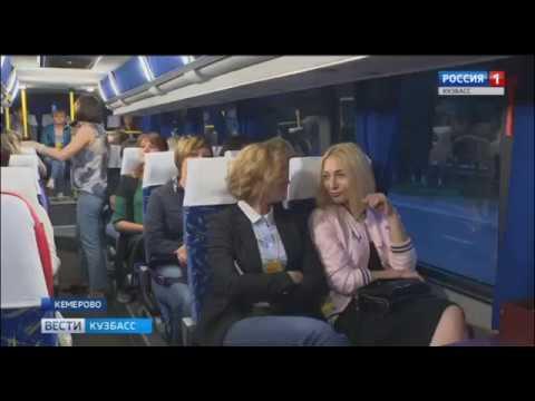 Участникам медиафорума показали достопримечательности Кемерова - DomaVideo.Ru