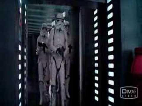 Stormtrooper Hits Head