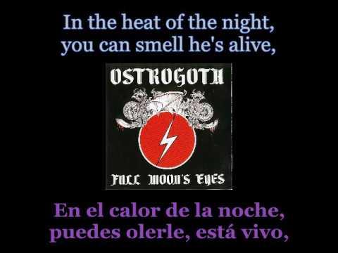 Ostrogoth - Full Moon's Eyes - Lyrics / Subtitulos en español (Nwobhm) Traducida