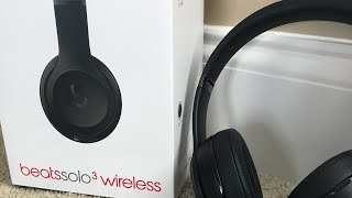 Beats Solo 3 Wireless Unboxing!!