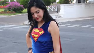 How to make a Super Girl costume #DIY - YouTube