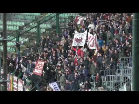 Siena-Arezzo 0-1, il settore ospiti in festa