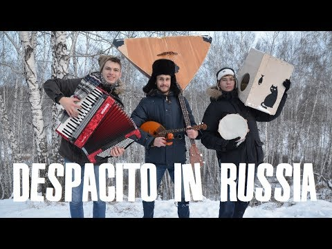 Despacito на русских народных инструментах