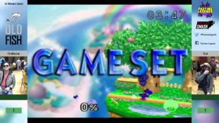 A really good 64 set: OLD FISH 64 WS: FireBlaster (Yoshi) vs Czar (Mario)