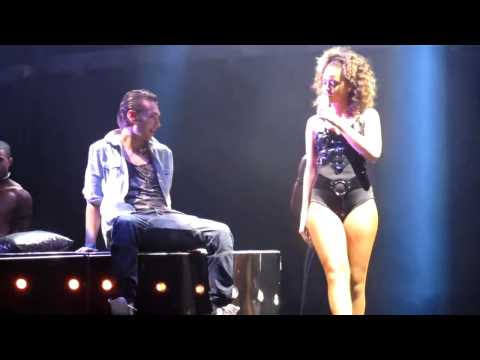 Rihanna Gives Fan A Lap Dance On Stage
