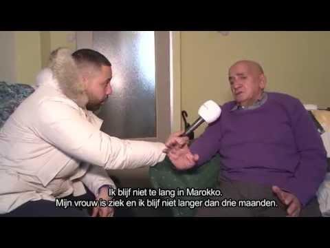 Bejaarde Marokkaanse man uit huis gezet!