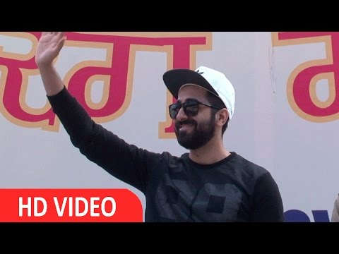 Ayushmann Khurrana & Ahsaan Qureshi At Support Road Safety Campaign