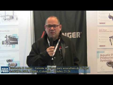 Eduwaldo B. Jordao   Gerente de Ventas para acuicultura de Wenger
