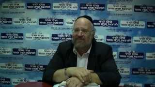 """הרב ברוך רוזנבלום – פרשת פינחס (ה'תשע""""ב)"""