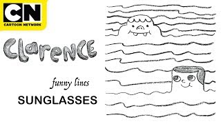 Download Lagu Clarence | Funny Lines with Clarence and Jeff | Sunglasses | Cartoon Network | CN Mini Mp3