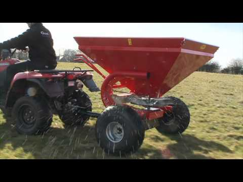 Spreader - Quad-X Salt Spreaders are developed and manufactured in UK. They are available in 50kg and 300kg capacities and come equipped with the necessary agitation an...