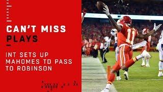 Patrick Ma-Ho-Ho-Homes Drops Dimes on TD Drive by NFL