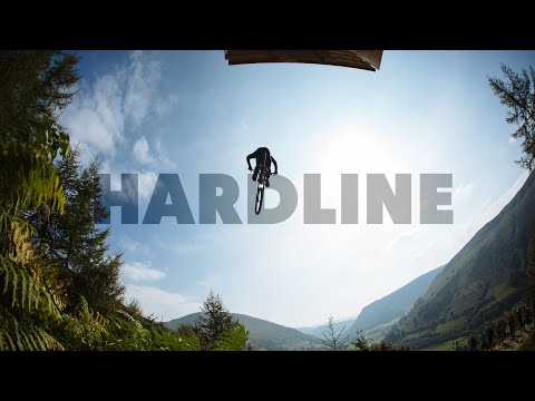 Aggressive Downhill Mountain Bike Racing - Red Bull Hardline (видео)