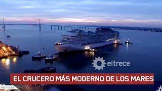 Un barco para 5.700 pasajeros donde la tecnología está en todas partes.