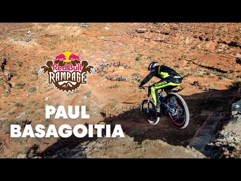 Red - CLICK for more Rampage 2014 videos: http://win.gs/1pdRlUG Check out the GoPro footage of Paul Basagoitia's qualifier run at Red Bull Rampage 2014. _ Experience the world of Red Bull like you...