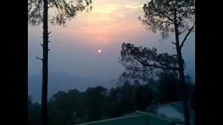 Kausani India  city pictures gallery : Famous Sunrise of Kausani, India : by Sudhakar Adeeb
