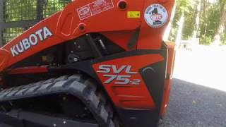 1. 2018 Kubota SVL75-2 10hr Review