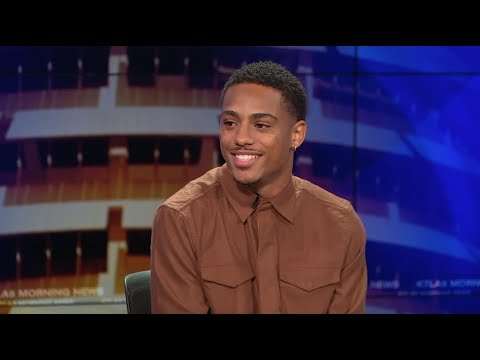 Keith Powers on his Kissing Scene Fear