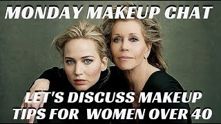 In this week's MONDAY MAKEUP CHAT, I am sitting down with fellow Celebrity Makeup Artist Stephen Dimmick and we are discussing THE DIFFERENCE BETWEEN APPLYIN...