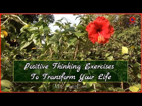 Positive Thinking Exercises To Transform Your Life  Success Quotes Whatsapp Status  M-ConnectEase