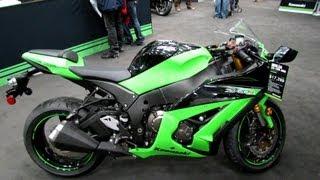 4. 2013 Kawasaki Ninja ZX-10R ABS - Walkaround - 2013 Quebec Motorcycle Show