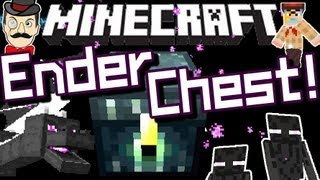 Minecraft ENDER CHEST ! New in 12w21a - Invincible Storage !