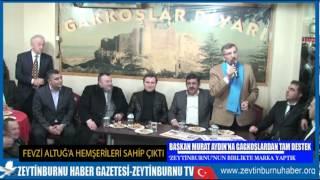 Murat Aydın'ı Duygulandıran Gagkoş Desteği