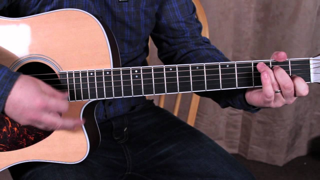 Acoustic Songs – Johnny Cash – Ring of Fire – How to Play on Guitar – Guitar Lessons