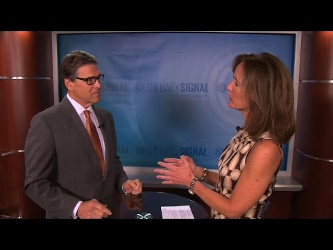 Gov. Rick Perry on Immigration and Indictment