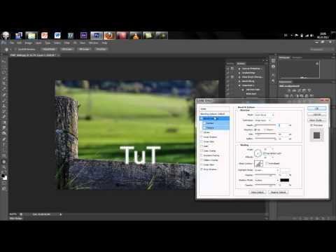 Photoshop CS6 – Wasserzeichen erstellen ( Watermark Tutorial )